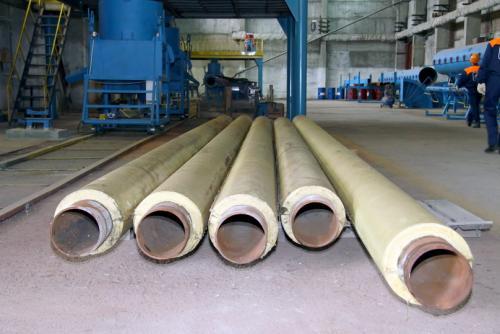 Трубы ППМ (ППМИ) на производстве